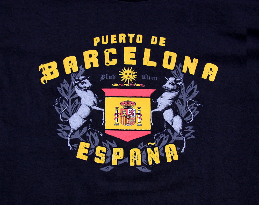 Barcelona Crest T Shirt
