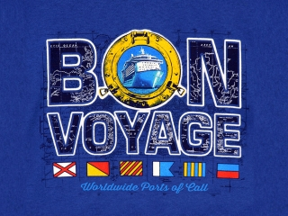 Nautical T Shirt with Porthole and Map
