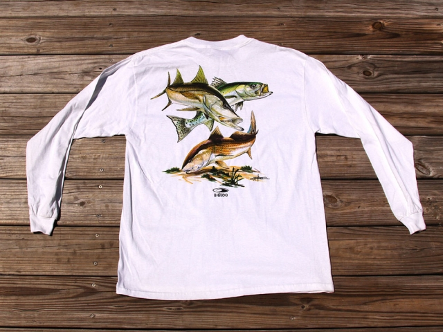 Long Sleeve Flats Fishing T Shirt