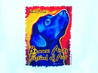 62nd Annual Beaux Arts Miami Dog T Shirt