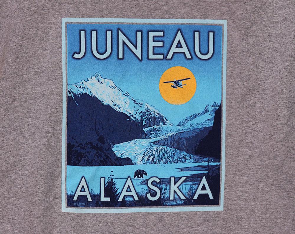Juneau Alaska Glacier T-Shirt