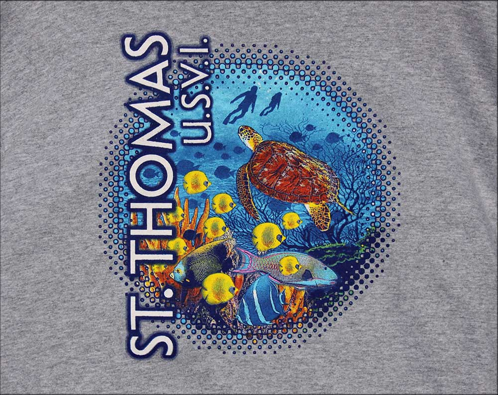St. Thomas Caribbean Reef T Shirt