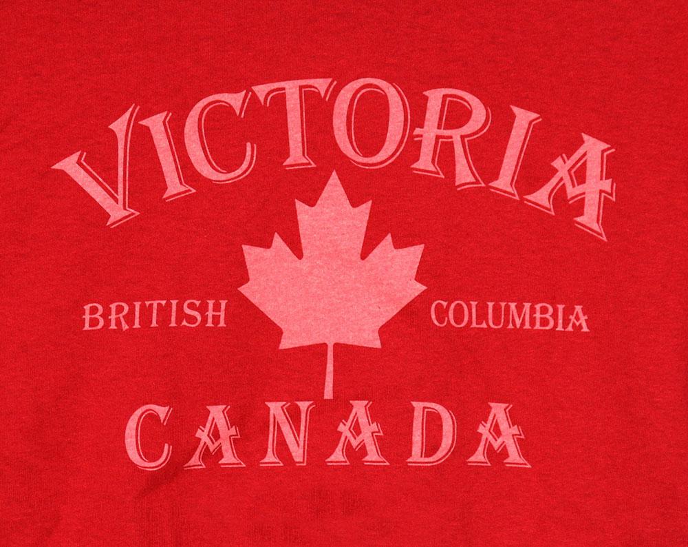 Vintage Victoria Canada Crest T-Shirt