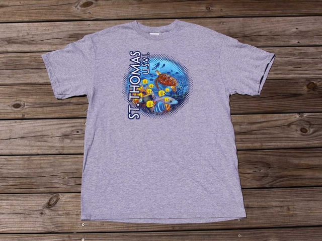 St. Thomas Coral Reef T-Shirt